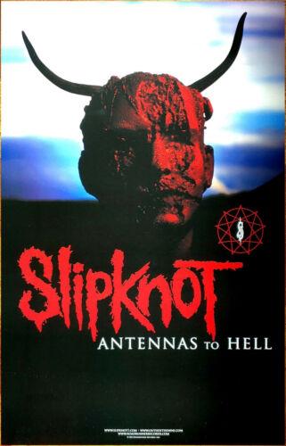 SLIPKNOT Antennas To Hell Ltd Ed New RARE Tour Poster +FREE Metal Rock Poster!
