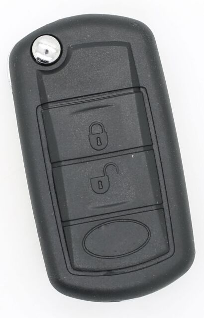 Fits RANGE Rover Sport Land Rover Discovery 3 BUTTON REMOTE KEY FOB CASE