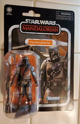 Star Wars The Vintage Collection The Mandalorian NEW with Figure Shield!
