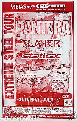 PANTERA / SLAYER / STATIC-X 2001