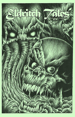 New! Eldritch Tales edited by Bob Price & published by Necronomicon Press!