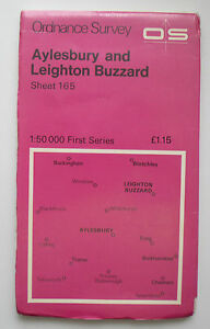1974-OS-Ordnance-Survey-map-1-50000-First-Series-165-Aylesbury-Leighton-Buzzard