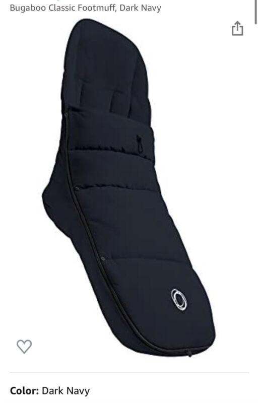 Bugaboo Universal Stroller Footmuff, Navy blue. Was $130 💙