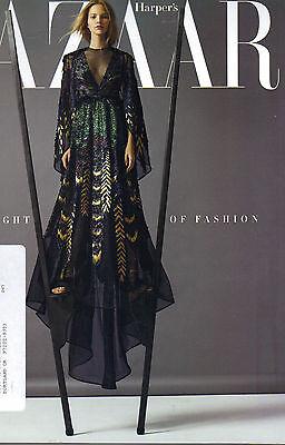 SASHA LUSS Harper's Bazaar Magazine 11/15 LENA DUNHAM PATTI SMITH SUBSCRIBER