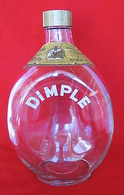 Used, RARE Vintage Haig Pinch Dimple w/ Gold Netting Overlay Scotch Decanter Scotland for sale  San Diego