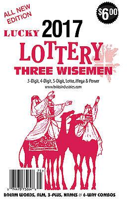 2017 Lucky Lottery Almanac   Dream Book   Lottery Book