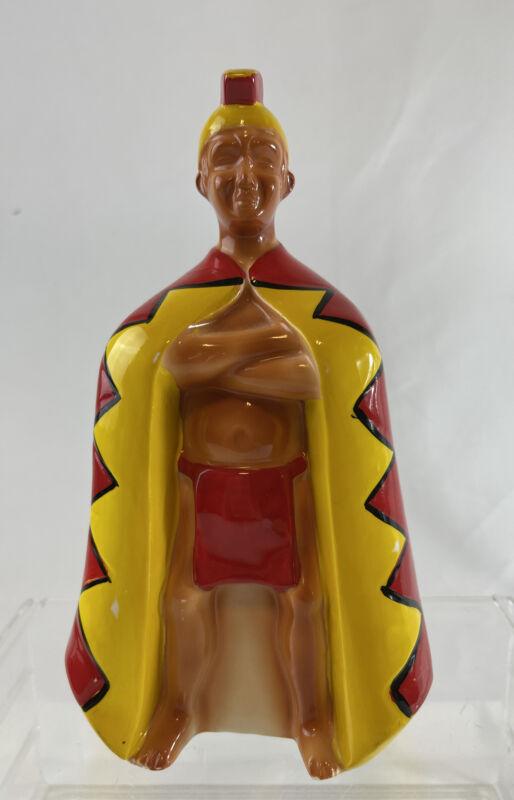 Vintage 70s King Kame'kamehe Hilton Hawaiian Hotel Ceramic Figure Statue Tiki