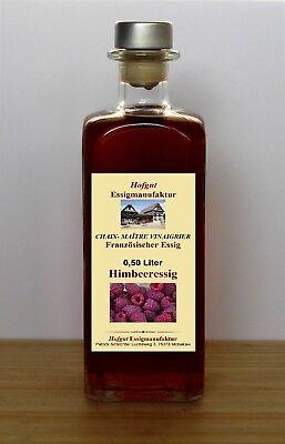 Himbeeressig fruchtessig aus Himbeeren und Himbeerwein 0,50l
