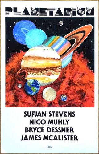 PLANETARIUM | SUFJAN STEVENS Ltd Ed RARE Poster +BONUS Folk Indie Rock Poster!