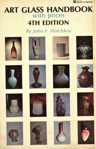 Art Glass - Makers Types Marks / Illustrated Book + Values