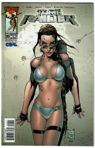 TOMB RAIDER #33 TONY DANIEL BIKINI COVER 2003 IMAGE TOP COW NM COMIC BOOK 1