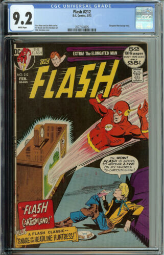 Flash # 212 CGC 9.2  WP