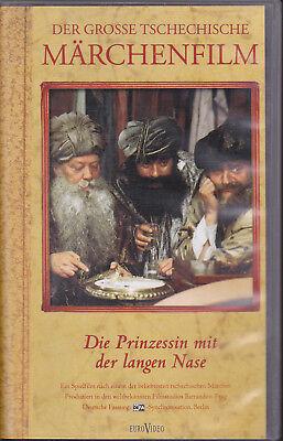 Langen Nase (VHS Video DIE PRINZESSIN MIT DER LANGEN NASE Tschechisches Märchen DEFA 1983)