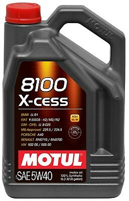 Motul 8100 X-CESS Synthetic | 5W40 Engine Oil 5L (5