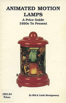 Antique Animated Motion Lamps - Makers Types Patterns / Scarce Book + Values