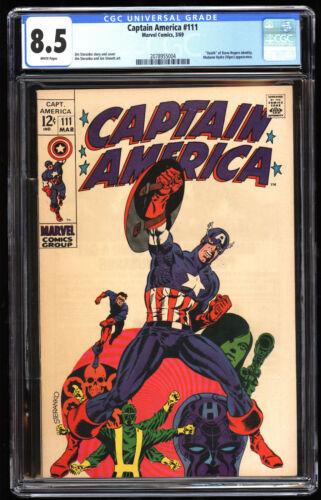Captain America 111   CGC 8.5