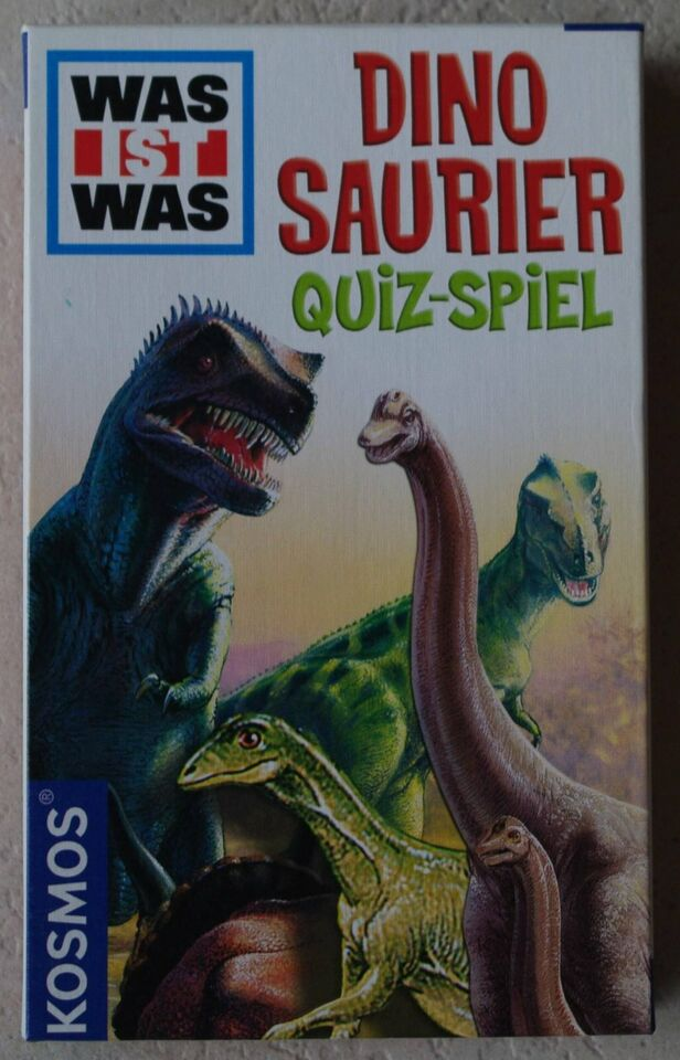 KOSMOS - Was ist was? Dinosaurier. Quizspiel - NEU - unbespielt in Niedersachsen - Winsen (Aller)