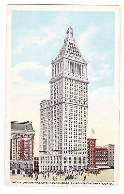 The Union Central Life Insurance Co  Building   Cincinnati Ohio      Postcard