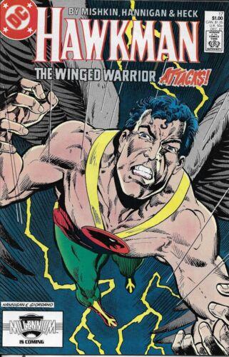 Hawkman Comic 17 Copper Age First Print 1987 Dan Mishkin Hannigan Heck DC