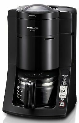 Panasonic [full automatic] coffee maker black NC-A56-K From Japan Version New