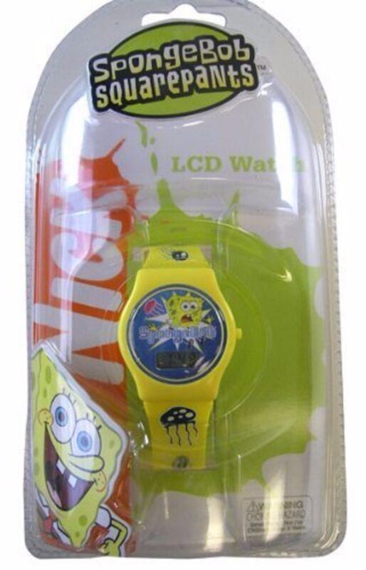 """Spongebob Squartpants Character Digital Watch"" (STYLES MAY VARY)-Brand new!v2"