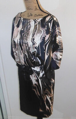 Jessica Simpson Women's Dress Size 2 Backless Black White Pink Gold Party Formal (Black White Pink Party)