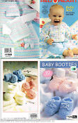 Baby Crochet Booties Lots