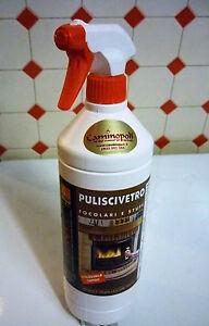 Polivetro spray per pulire il vetro della stufa a pellet - Pulire stufa a pellet ...