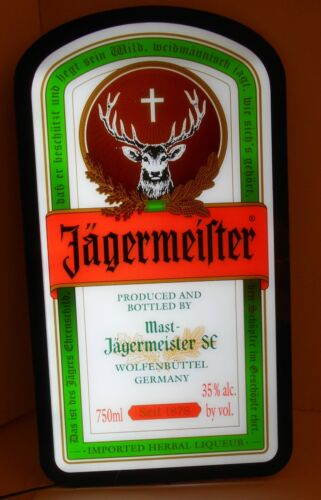 2013 Jagermeister Lighted Sign