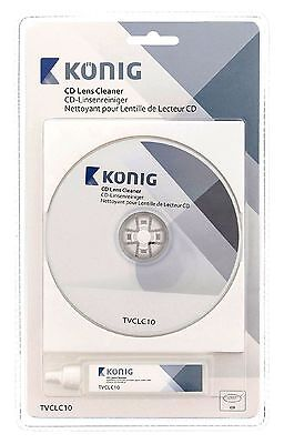 Rom Lens Cleaner (CD & CD-ROM  Player Lens Cleaner Cleaning Kit Wet And Dry With 20ml )