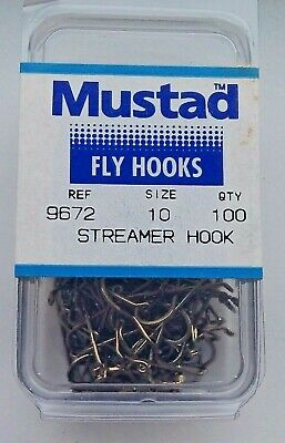 100 MUSTAD 4//0 ITALIAN ROUND HOOKS EX STRONG TINNED TAPERED RING forged reversed