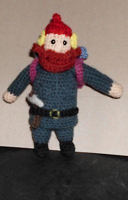 Handmade Crocheted Amigurumi Yukon Cornelius from Rudolph the Red Nosed (Cornelius From Rudolph The Red Nosed Reindeer)