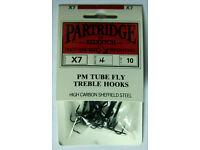 Partridge P Heavy Double HooksSalmon HooksSizes 2 to 10