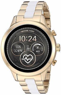 Michael Kors Access Women's MKT5057 Runway Two-tone Touchscreen Smartwatch