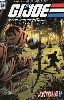 GI Joe #230  REAL AMERICAN HERO Hama Gallant COVER A 1ST. PRINT