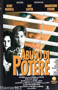 ABUSO-DI-POTERE-1993-VHS-Penta-Video-Kurt-Russell-Madeleine-Stowe-Ray-Liotta