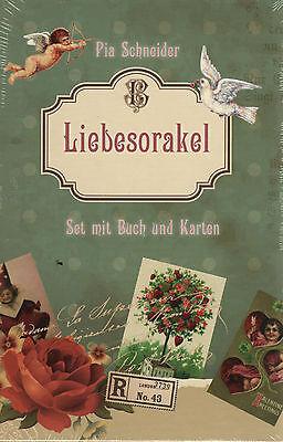 LIEBESORAKEL - Karten & Buch Set von Pia Schneider NEU - OVP