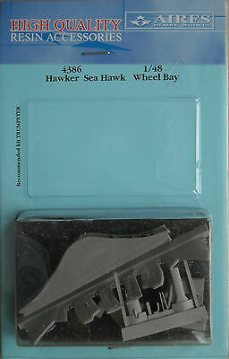 Aires 1/48 4386 Hawker Sea Hawk Wheel Bay for Trumpeter Kit