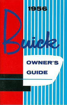 1956 Buick Owner's Manual