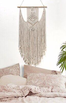 Handmade Macrame Wall Hanging- Woven Wall Art- Macrame Tapestry - Boho Wall Deco