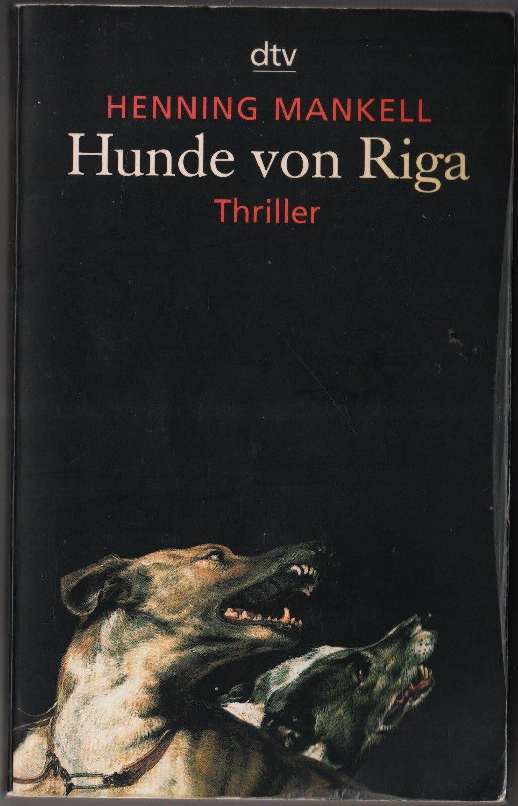 Hunde von Riga von Henning Mankell dtv TB 20294