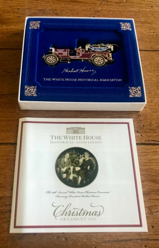 Excellent Condition 2016 White House ornament with box pamphlets