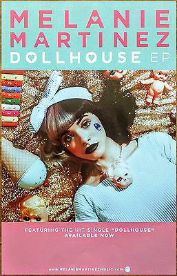 Melanie Martinez Dollhouse Ltd Ed Rare Poster  Free Indie Pop Poster  Cry Baby