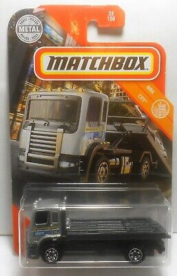 MATCHBOX 2020 MBX FLATBED KING METRO POLICE CITY 25/100 MINT ON CARD