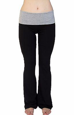 N 365 Petite Yoga Pants With Fold Down Waist