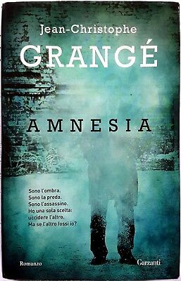 Jean-Christophe Grangé, Amnesia, Ed. Garzanti, 2012