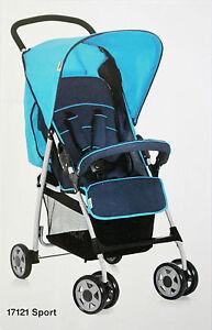 Hauck Buggy Kinderwagen Shopper Sportwagen Babybuggy Moonlight Capri Liegebuggy