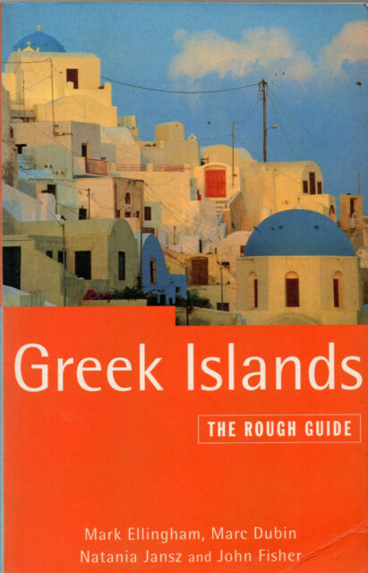 Greek Islands: The Rough Guide (1996 paperback)