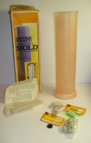 Vintage Candle Craft POLYPRO MOLD By Cunningham Art Products