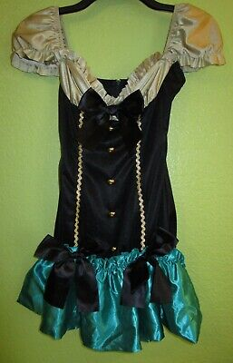 🎩 Sexy MAD HATTER Halloween Dress Costume * Size EXTRA SMALL * Tea Party - Mad Hatters Party Kostüm